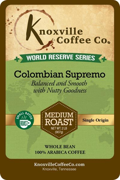 KCC World Reserve Colombian Supremo Coffee