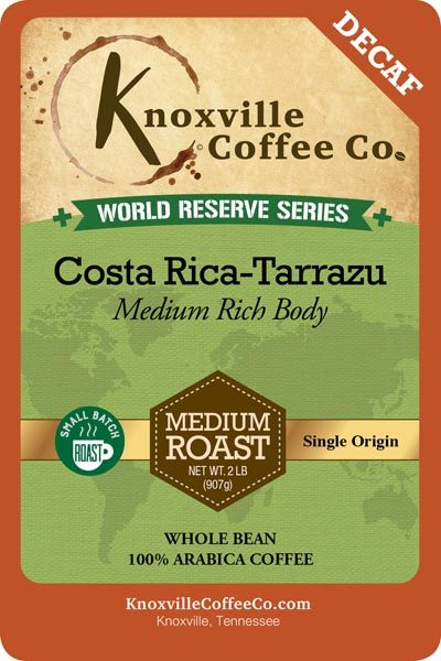 KCC World Reserve Costa Rica Decaf Coffee