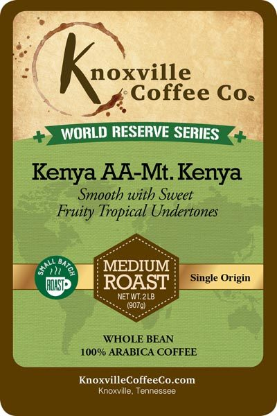 KCC World Reserve Kenya Coffee
