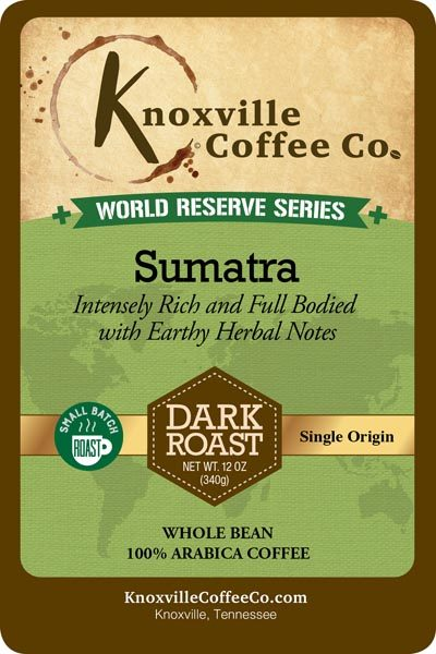 KCC World Reserve Sumatra Coffee
