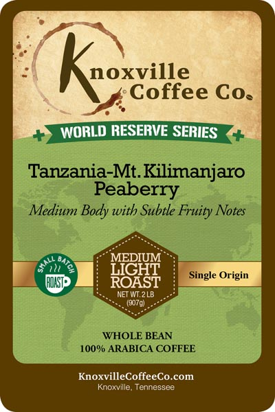 KCC World Reserve Tanzania Coffee
