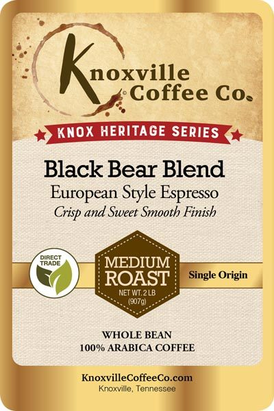 Knox Heritage Black Bear Blend Coffee