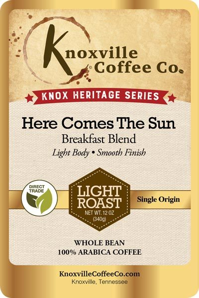 Knox Heritage Here Comes The Sun Coffee